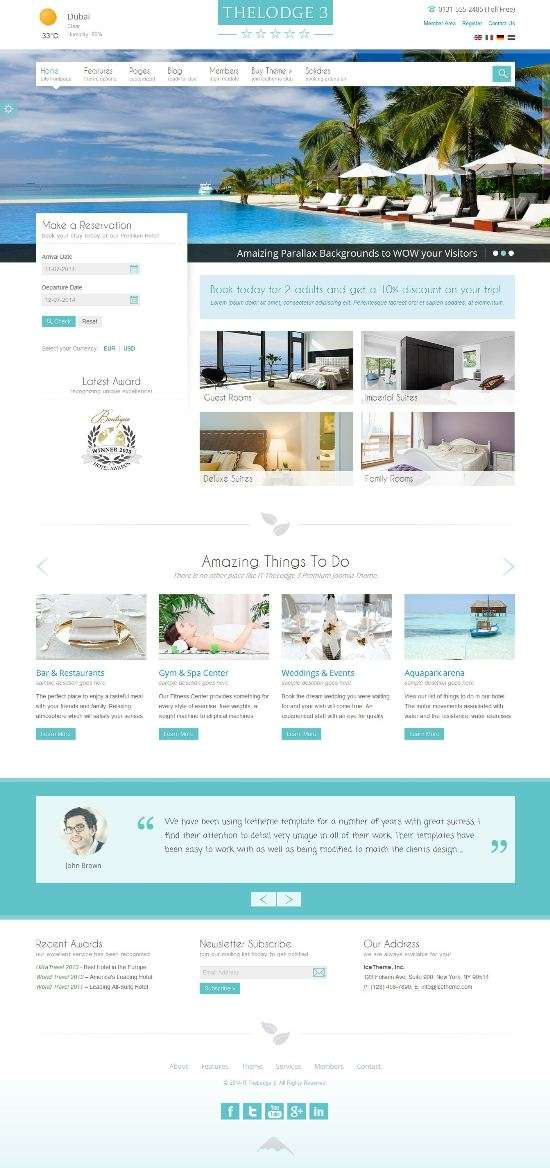 it thelodge 3 ice themes avjthemescom 01 - IT TheLodge 3 Joomla Template