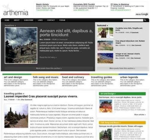 arthemia premium home 1 - Arthemia - Premium Wordpress Theme