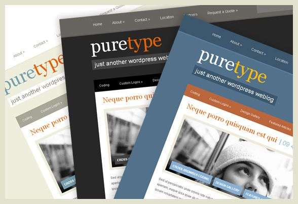 puretype 2 avjthemescom - PureType : Wordpress Theme