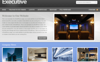executive - StudioPress Wordpress Themes