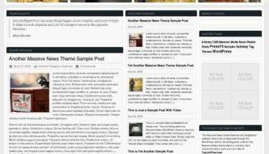 massive news 2 avjthemescom - Massive News 2.0 - Premium WordPress Theme