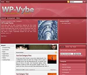 wp vybe cardinal avjthemescom - WP-Vybe 2.0