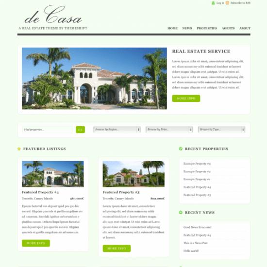 decasa avjthemescom real estate 550x550 - deCasa Wordpress Theme