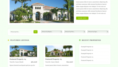 decasa avjthemescom real estate - deCasa Wordpress Theme