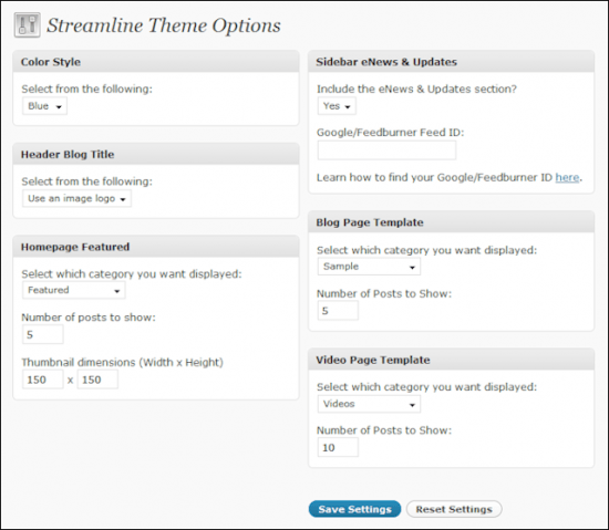 streamline 30 options 550x479 - Streamline 3.0 Wordpress Theme