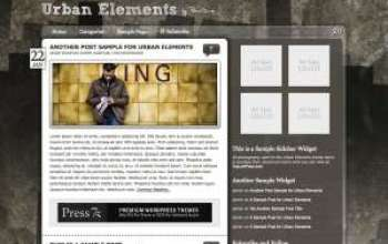 urbanelements - Press75 Wordpress Themes