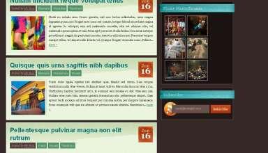 vintmint wpnow avjthemescom - VintMint WordPress Theme