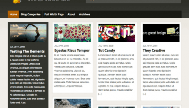 mortar woothemes wordpress theme - Mortar Wordpress Theme