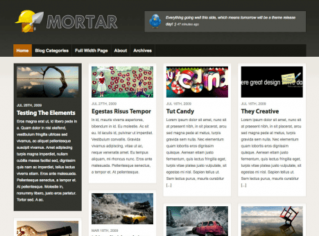 mortar woothemes wordpress theme - Mortar Wordpress Theme