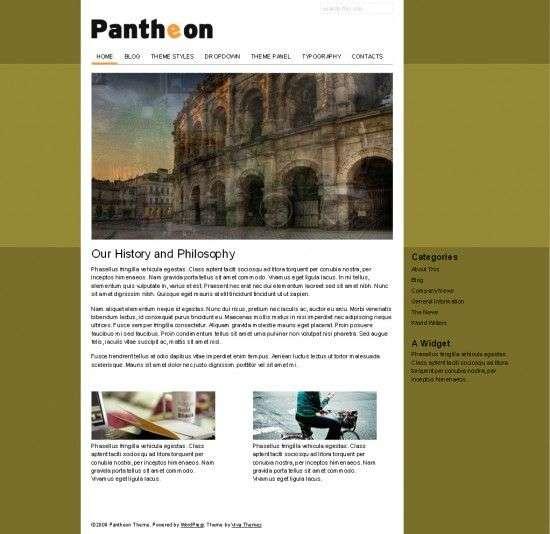pantheon viva wordpress theme1 550x534 - Pantheon Wordpress Theme