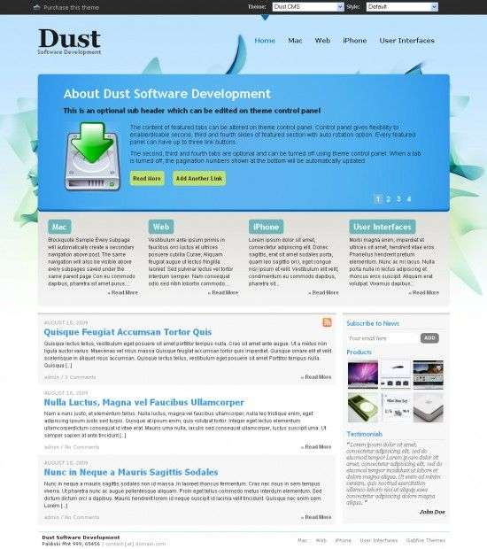 Dust Studiopress Theme