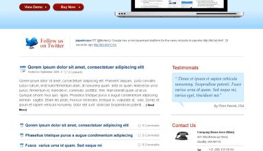 ProductFolio avjthemescom premiumthemes - ProductFolio Wordpress Theme