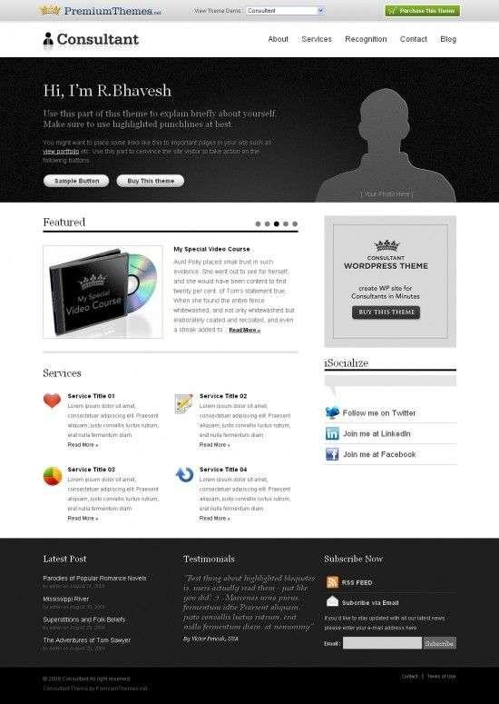 consultant avjthemescom premiumthemes 550x775 - Consultant Wordpress Theme