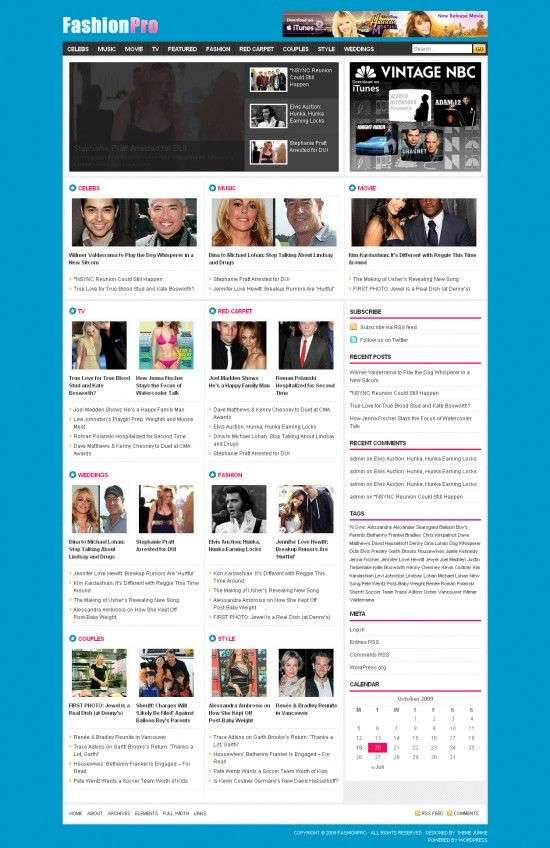 FashionPro Wordpress Theme 550x848 - FashionPro Wordpress Theme