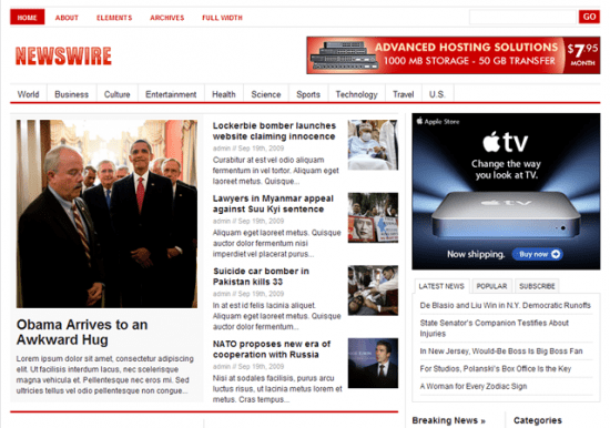 Newswire Theme Junkie Avjthemescom 550x386 - Theme Junkie Wordpress Themes
