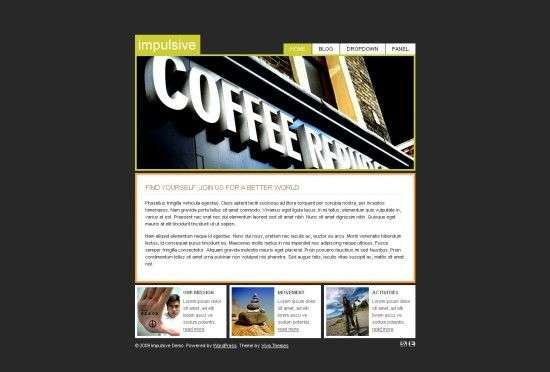 implusive viva wordpress theme 550x372 - Impulsive Premium Wordpress Theme