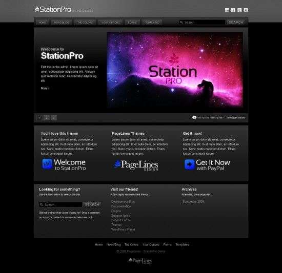 station-pro-black-wordpress-Theme