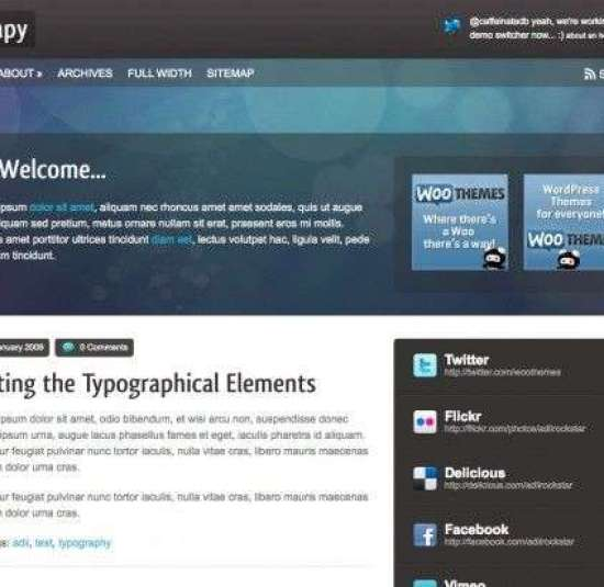 Therapy Woothemes wordpress theme