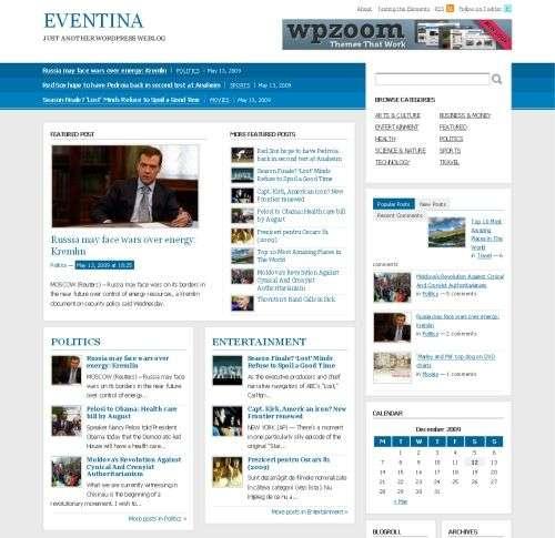 eventia wordpress theme - Wpzoom Premium Wordpress Themes