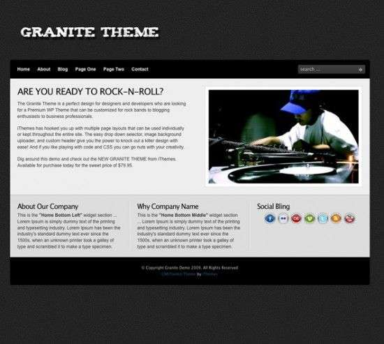 granite wordpress ithemes 550x493 - Granite Wordpress Theme