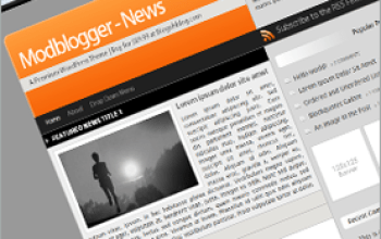 modblogger news blogohblog - Blogohblog Premium Wordpress Themes