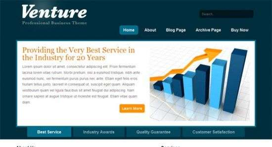 venture 550x297 - Modthemes Premium Wordpress Themes