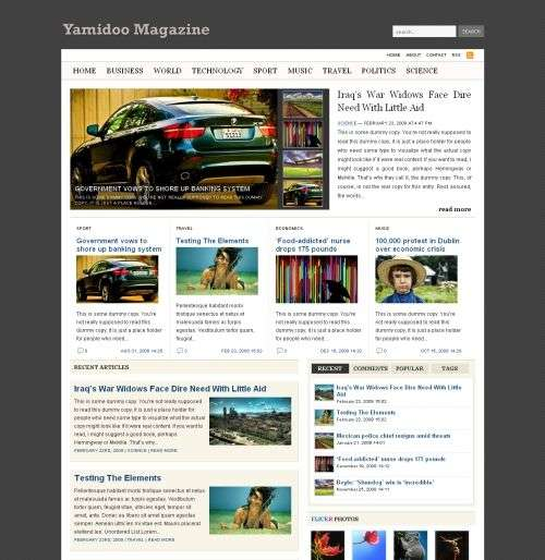 yamidoo wpzoom wordpress theme - Wpzoom Premium Wordpress Themes