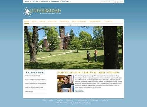 avj universidad viva wordpress theme - Universidad Wordpress Theme