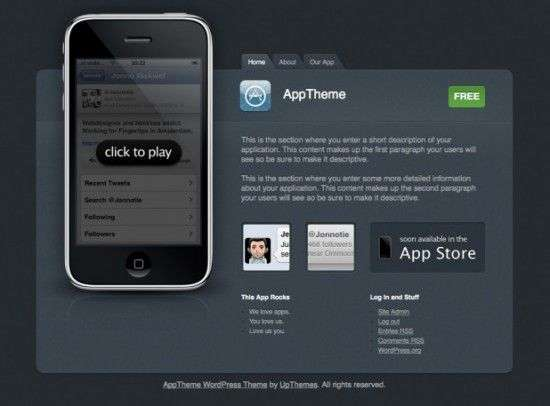 apptheme 550x406 - UpThemes Wordpress Themes