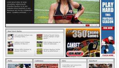 head coach wordpress theme - Head Coach Premium Wordpress Theme