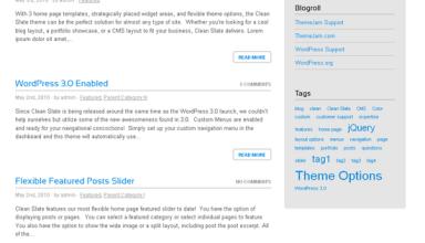 clean slate wordpress theme - Clean Slate Premium Wordpress Theme