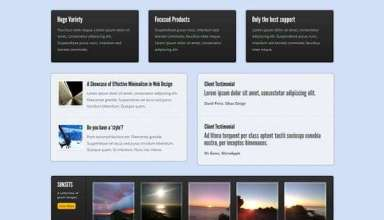 gloss surface wordpress theme - Gloss Surface Premium Wordpress Theme