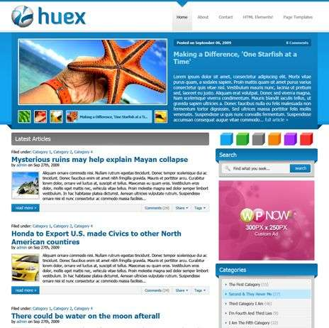 huex wpnow theme - WpNow WordPress Themes