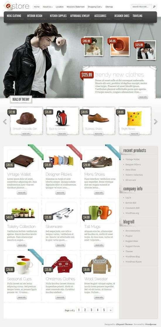 eStore WordPress Theme - eStore Premium WordPress Theme