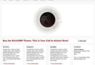 richcorp wordpress theme - RichCORP Premium WordPress Theme
