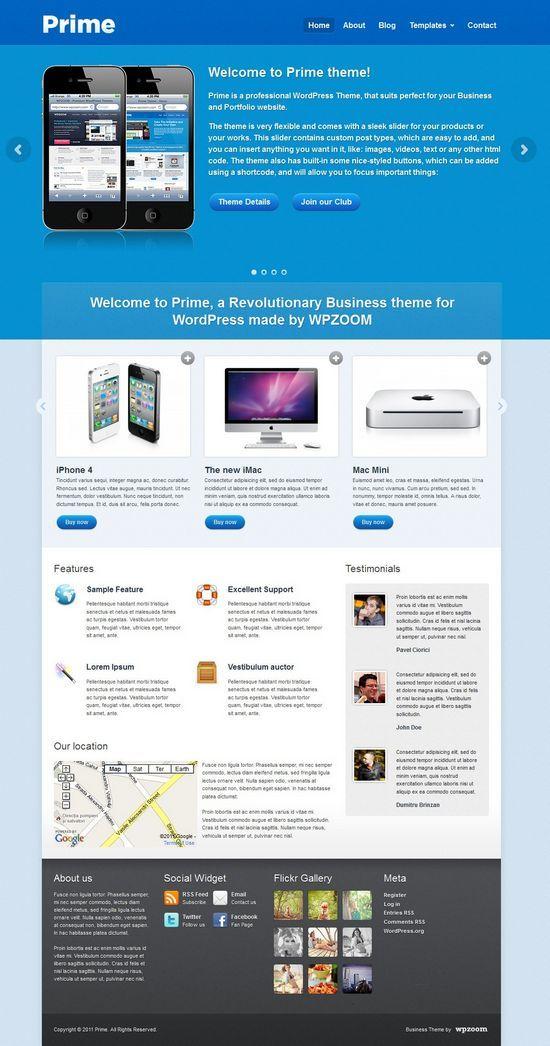 prime wpzoom theme avjthemescom - Prime WordPress Theme