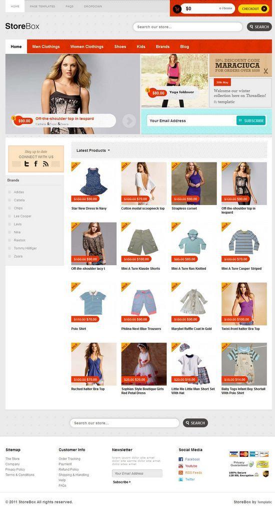 storebox templatic avjthemescom - StoreBox WordPress Theme