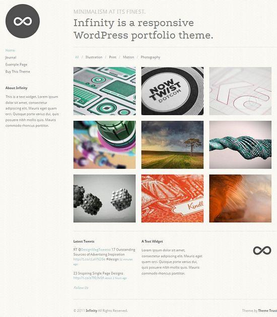 infinity themetrust avjthemescom - Infinity WordPress Theme