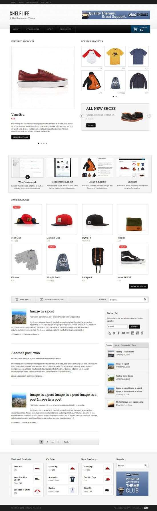 shelflife woothemes avjthemescom 01 - Shelflife WordPress Theme