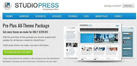 studiopress pro plus - StudioPress Coupon Code For All Themes Pro Plus Package