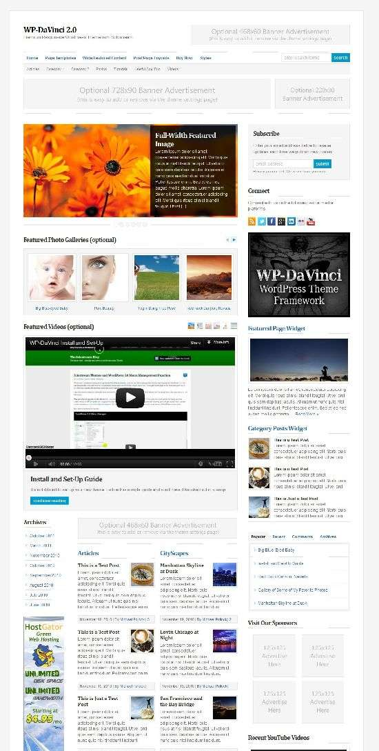wp davvinci solostream avjthemescom 1 - WP-DaVinci 2.0 WordPress Theme