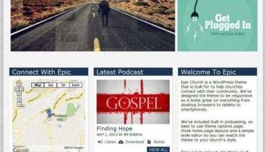 epic organizedtheme avjthemescom 01 - Epic WordPress Theme