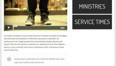 gallery church ithemes avjthemescom 1 - Gallery Church WordPress Theme