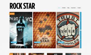 rockstar - ThemePURE Premium WordPress Themes