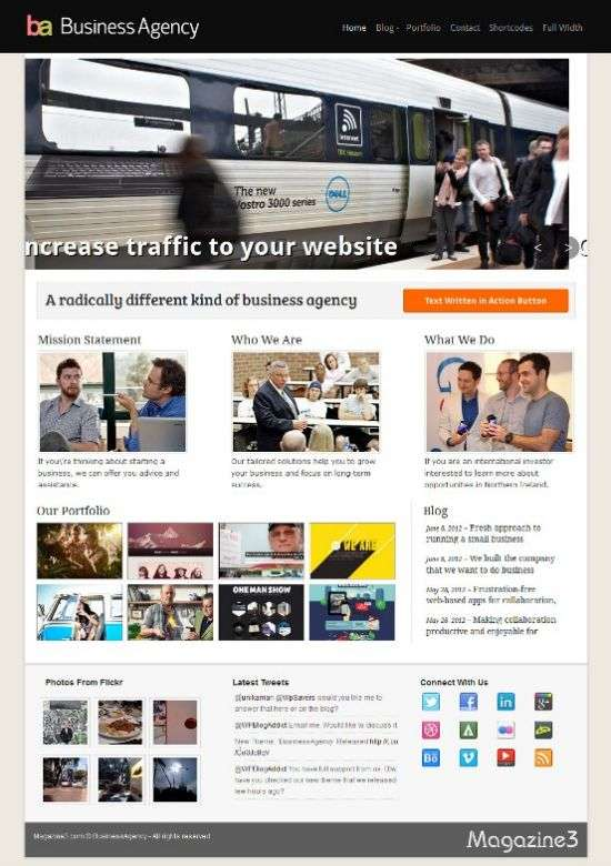 business agency magazine3 avjthemes - Business Agency WordPress Theme