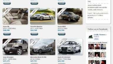 car dealer gorillathemes - Car Dealer WordPress Theme