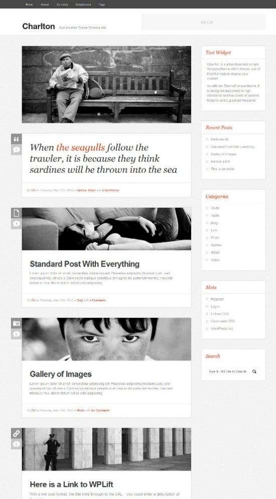 charlton wordpress theme - Charlton WordPress Theme