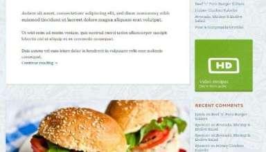 foodie mintthemes avjthemescom 01 - Foodie WordPress Theme