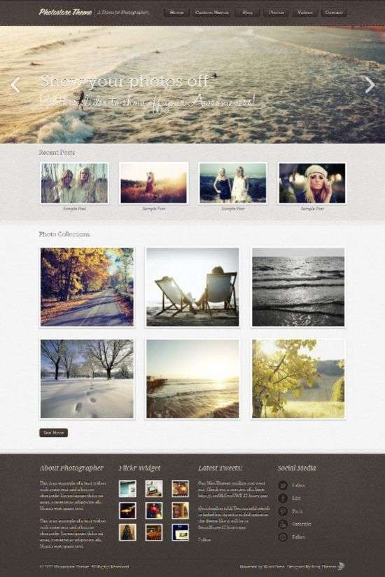 photostore mintthemes avjthemescom 01 - Photostore WordPress Theme