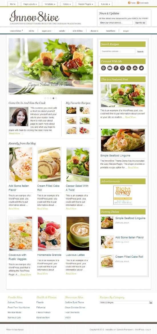 innov8tive studiopress avjthemescom 01 - Innov8tive WordPress Theme